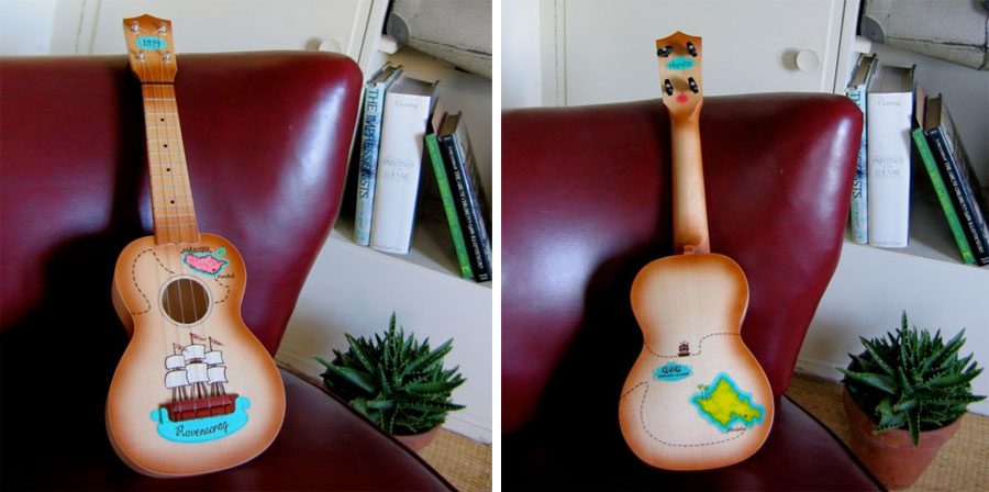 Shelly Rickey's Ukulele